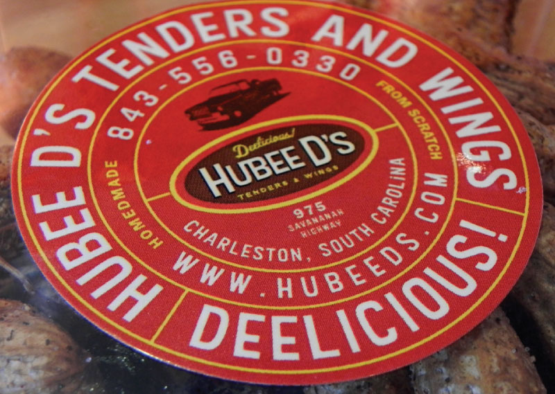 Hubee-D's-sticker