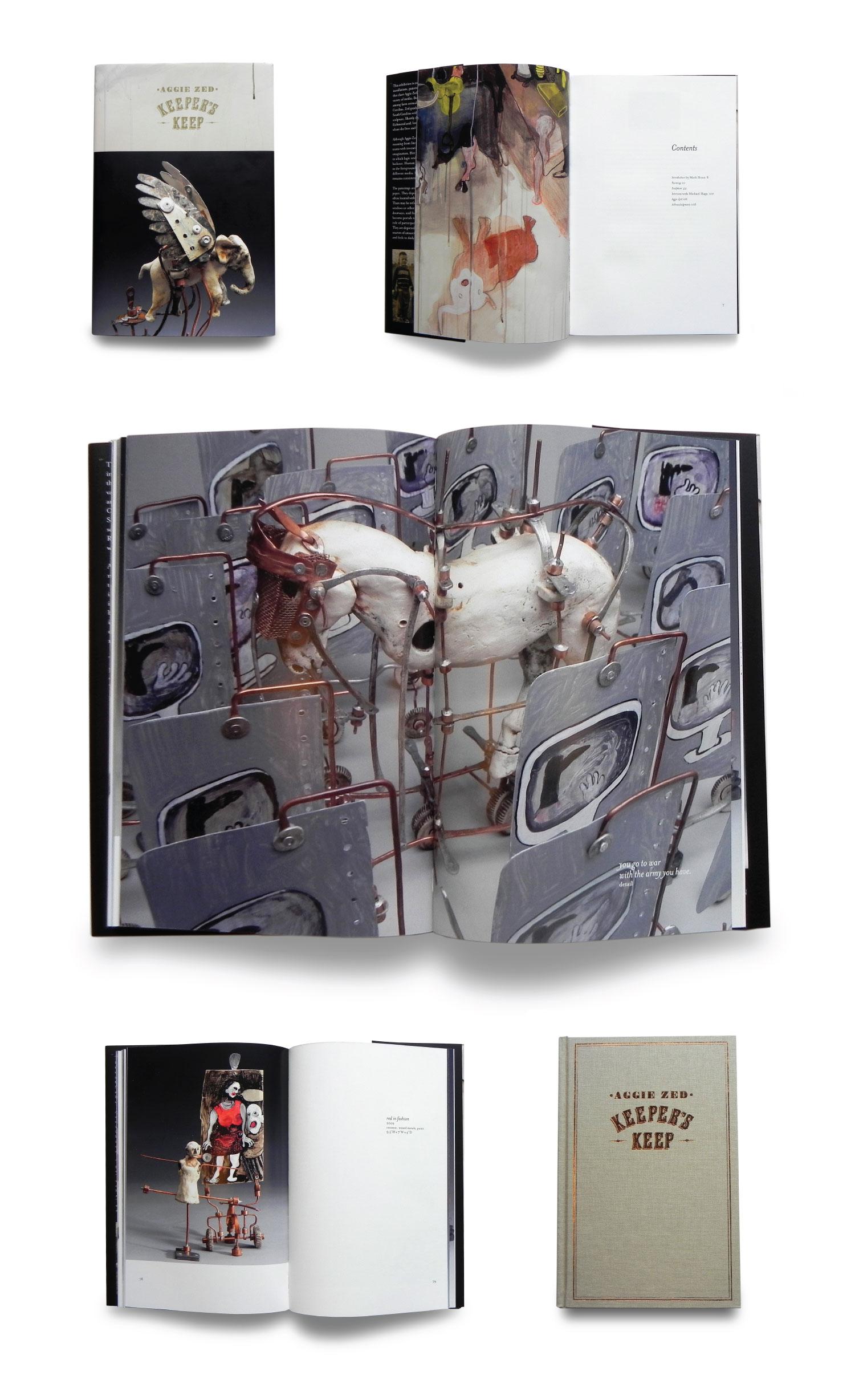 aggie zed - keeper's keep art book