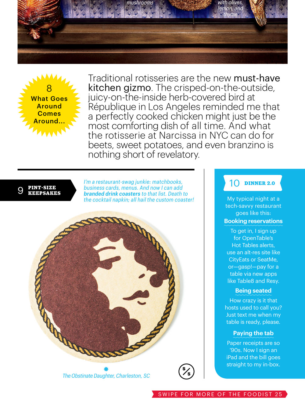 we are in Bon Appetit! | Gil Shuler Graphic Design