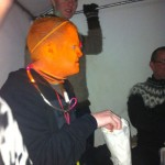 then around 3am this orange guy wandered into the tent